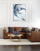 Bernhardt Renaldo 4-Piece Leather Sectional