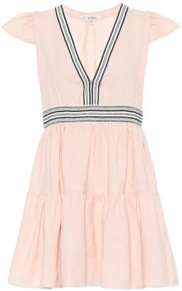Lemlem Koki linen-blend minidress