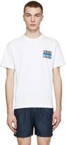 Kenzo White Paris Logo T-Shirt