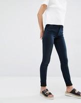 Monki Mocki Slim Mid Waist Jean