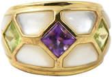 One Kings Lane Vintage Kai Yin Lo Vermeil Gemstone Ring