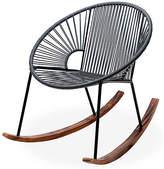 Mexa Ixtapa Rocking Chair - Stone Gray
