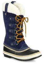 Sorel Joan Of Artic Suede & Faux Shearling Winter Boots