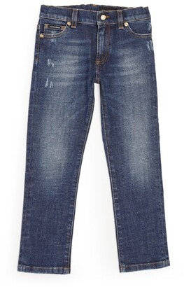 Dolce & Gabbana Kids Distressed Jeans (2-6 Years)