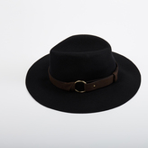 Maje Felt hat with straps