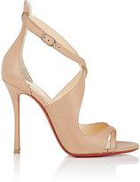 Christian Louboutin Women's Malefissima Leather Sandals