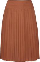 Derek Lam Pleated silk skirt