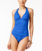 Lauren Ralph Lauren One-Piece Tummy Control Halter Swimsuit