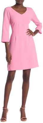 Trina Turk Noteworthy V-Neck Dress