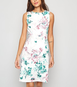 New Look Floral Poplin Mini Dress