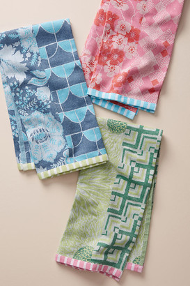 Anthropologie Quinn Dish Towels, Set of 3 By in Assorted Size SET OF 3