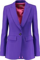 Emilio Pucci Wool-blend crepe blazer