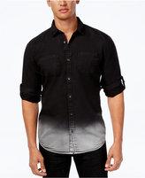 INC International Concepts Men's Ombre Denim Shirt, Only at Macy's