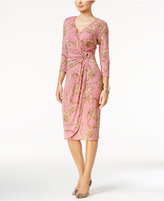 Thalia Sodi Draped Hardware Dress, Only at Macy's