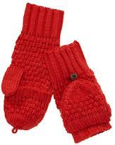 Gap Moss stitch convertible mittens
