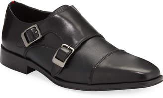 DKNY Santop Double-Monk Dress Shoes