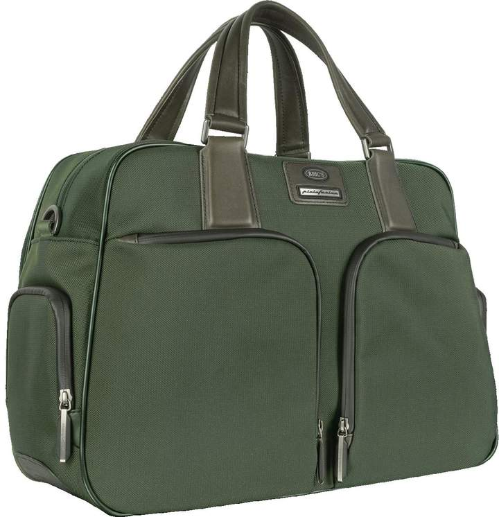 Bric's Pininfarina - Large Nylon and Leather Briefcase