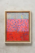 Leslie Spann for Artfully Walls Blue Pink Tomato Wall Art
