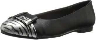 Annie Shoes Women's Eastly Wide Calf Flat