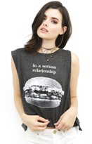 Wildfox Couture Heart Eyes Chad Tank in Clean Black