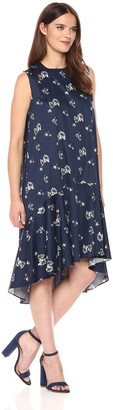 Lucca Couture Women's Print Addison Sleeveless Midi Dress