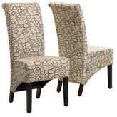 Monarch Set of Two Swirl Dining Chairs