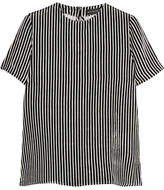 Etro Striped Velvet Top - Black