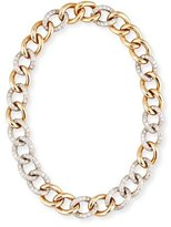 Pomellato Tango 18K Rose Gold Link Necklace with Diamonds