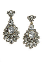 LuLu*s Dream of Genie Clear Rhinestone Earrings