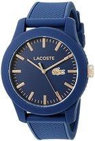 Lacoste Men's 2010817 Lacoste.12.12 Analog Display Japanese Quartz Blue Watch
