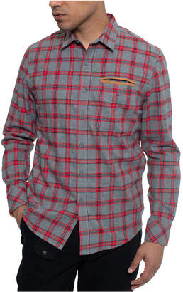 Sean John Men Plaid Flannel Shirt