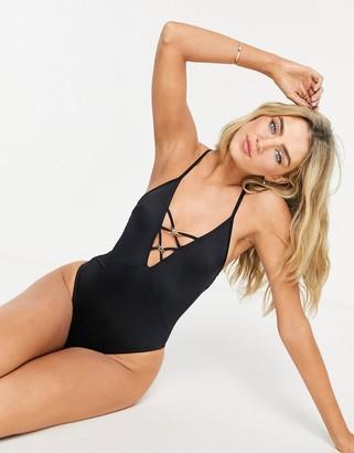 Dorina Ampara swimsuit in black