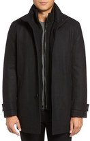 Andrew Marc Strafford Wool Blend Car Coat