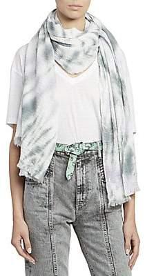 Isabel Marant Women's Dresley Tie Dye Scarf