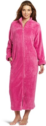 Casual Moments Women's 52 Breakaway Zip Pink Small