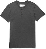 Reigning Champ - Slim-fit Cotton-jersey Henley T-shirt