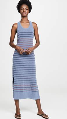 Sundry Racerback Slit Dress