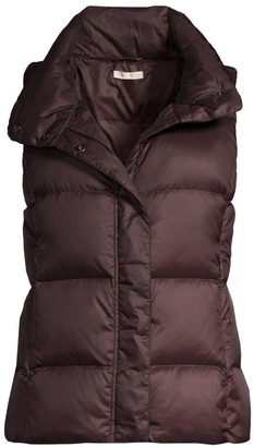 Eileen Fisher Recycled Polyester Quilted Puffer Vest