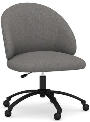 Pottery Barn Ryker Upholstered Swivel Desk Chair