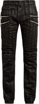 Balmain Distressed slim-leg jeans