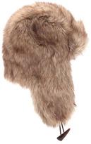 Forever 21 Men Faux Fur Trapper Hat