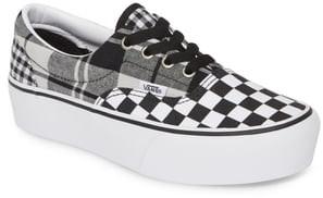 Vans UA Era Mixed Pattern Platform Sneaker
