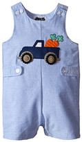 Mud Pie Easter Truck Shortall (Infant)