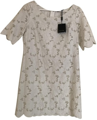 BEIGE Massimo Dutti Lace Dress for Women
