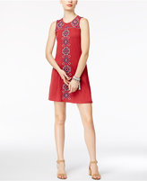 Style&Co. Style & Co Petite Embroidered Shift Dress, Only at Macy's