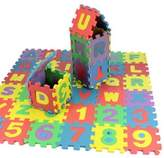 China Baby Kids Alphanumeric Educational Puzzle Blocks Infant Child Toy Gifts 36 pcs by XINX