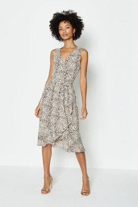 Coast Sleeveless Wrap Dress