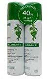 Klorane DRY Shampoo Sebo Regulating with Nettle, 3.2 Oz, Pack of 2