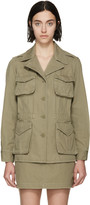 Marc by Marc Jacobs Safari Green Greenwhich Jacket