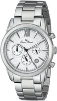 Lucien Piccard Men's LP-12356-22S Mulhacen Analog Display Japanese Quartz Silver Watch
